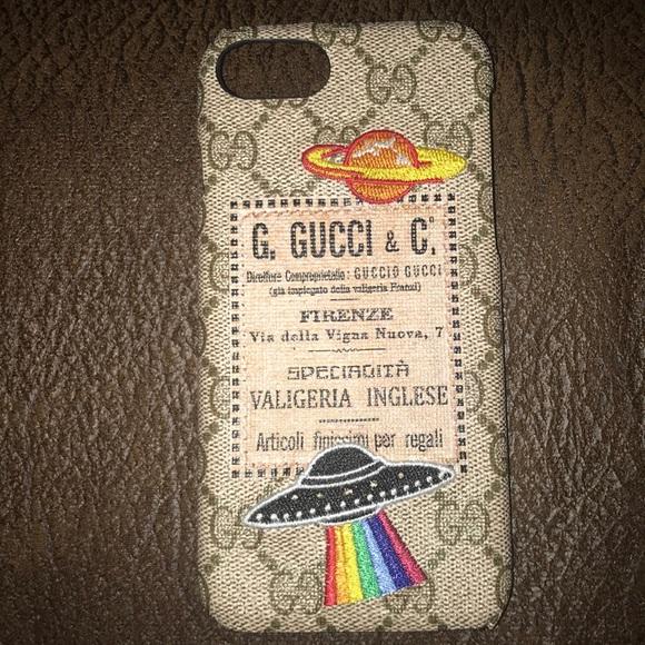 8fcbcc26e75 Gucci Other - iPhone 7 Gucci spaceship case
